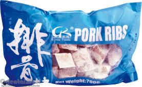 Kinda Foods Frozen Pork Rib (豬排骨)