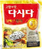 CJ Dasida Anchovy Soup Stock 100g (씨제이 멸치 다시다 100g)