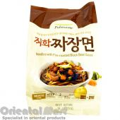 Pulmuone Noodles with Fire Roasted Black Bean Sauce Jjajangmyun (풀무원 직화짜장면)