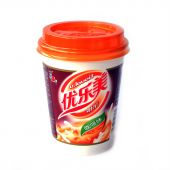 ST Instant Tea Drink With Nata de Coco- Coffee Flavour (优乐美椰果奶茶- 咖啡味)