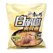 Master Kong White Pepper Pork Ribs Noodle (康师傅白胡椒肉骨麺)