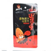 HBS Squid Q Dried Beancurd - Hot & Pepper Flavour (好巴食 墨魚原汁Q豆干- 川香雙椒味)