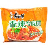 Master Kong Spicy Beef Flavour Noodle (康師傅香辣牛肉麵)