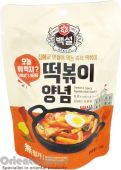 Beksul Instant Sweet & Spicy Topokki Hot Sauce (백설 떡볶이 양념)